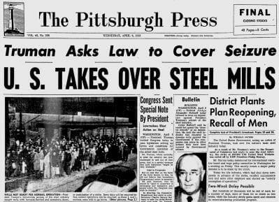 Episode 89: A Deep Dive into the Steel Seizure Case (Youngstown Sheet & Tube v. Sawyer)